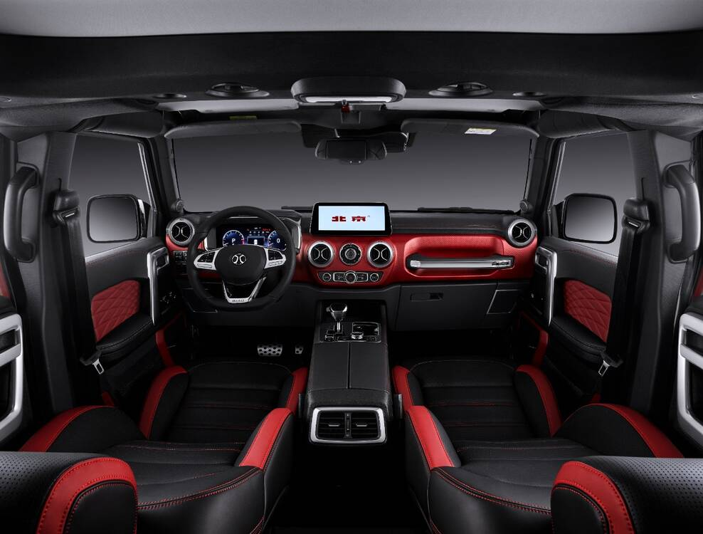 BAIC BJ40 Plus  Interior