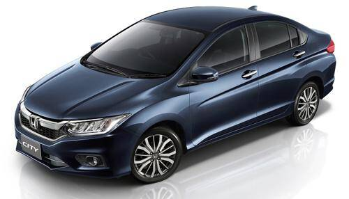 Honda City  Exterior Top View