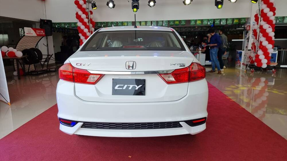 Honda City Exterior Rear