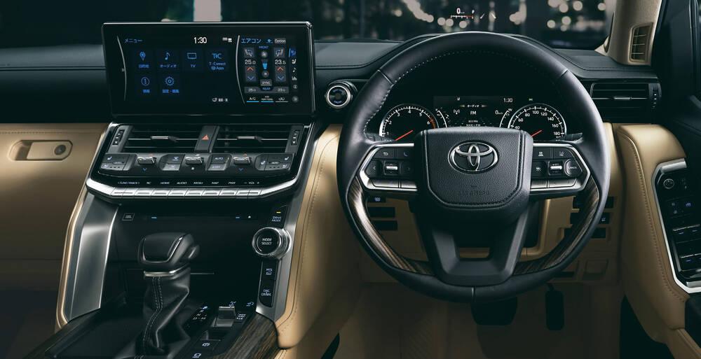 Toyota Land Cruiser Exterior Dashboard