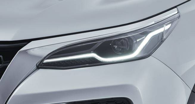 Toyota Fortuner Exterior Headlight