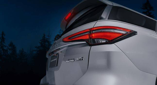 Toyota Fortuner Exterior Taillights