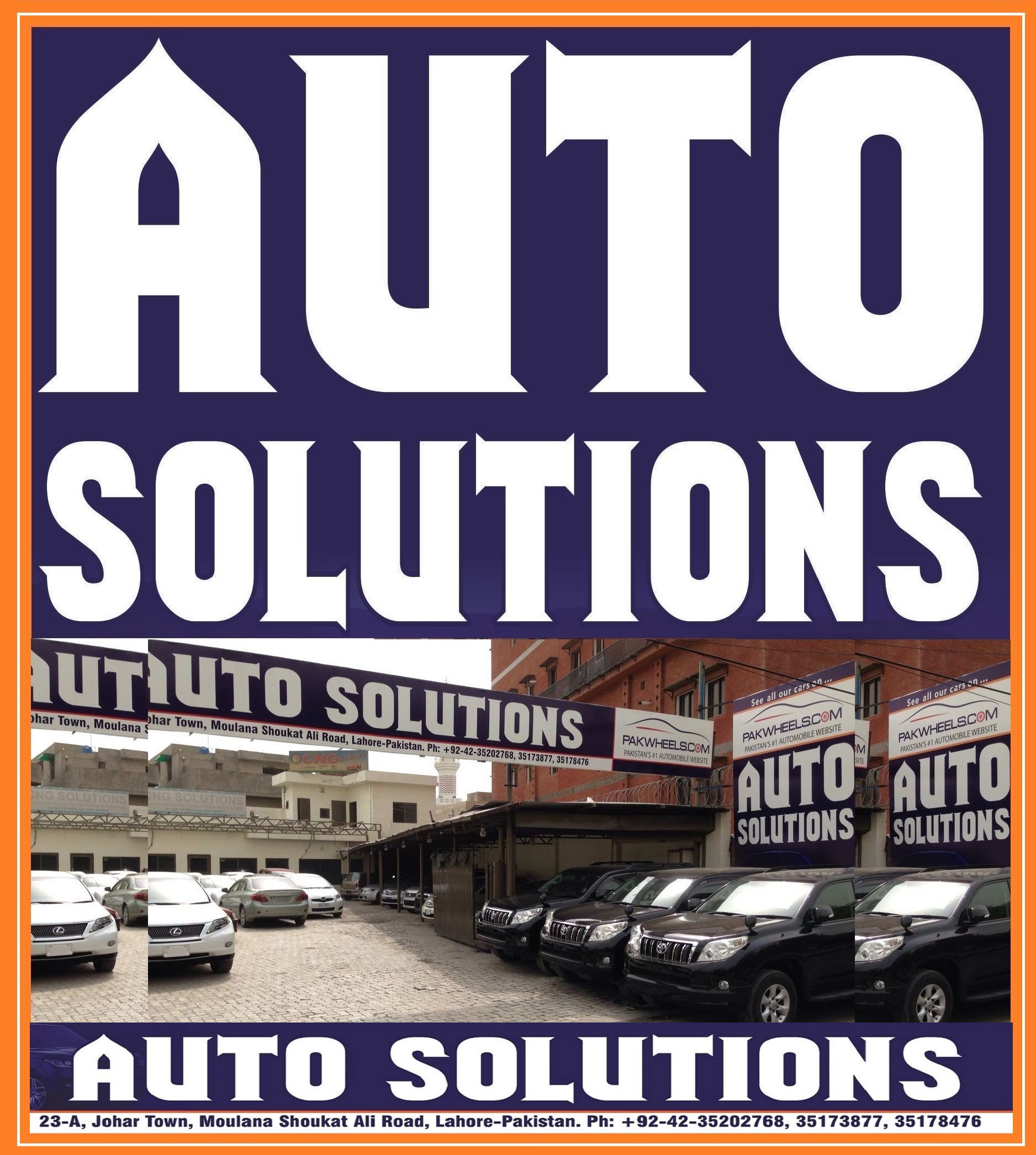 Auto Solutions Used Car Dealer In Lahore