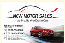 New Motor Sales (M.A Jinnah Road)