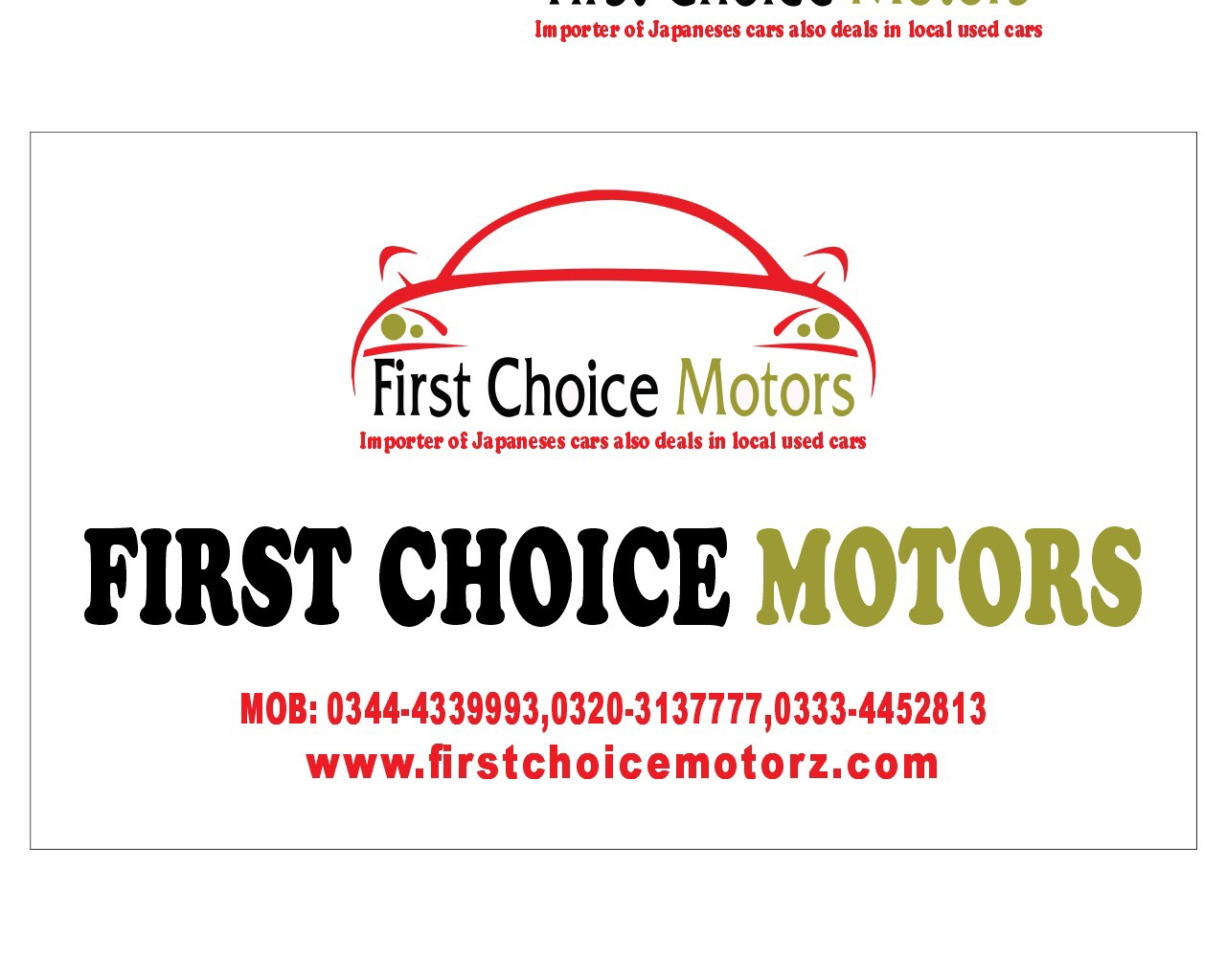 First Choice Motors